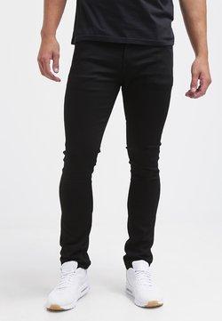 Volcom - Straight leg jeans - black on black