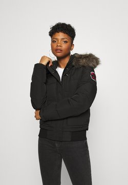 Superdry - EVEREST - Winterjacke - black