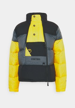 The North Face - STEEP TECH JACKET UNISEX - Daunenjacke - vanadis grey/ black/lightning yellow