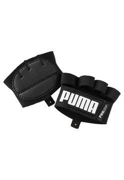 Puma - Kurzfingerhandschuh - black-white