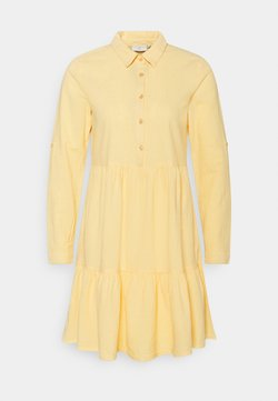 Kaffe - NAYA DRESS - Vestido camisero - golden haze