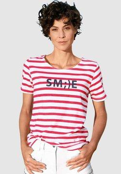 Dress In - T-Shirt print - rot/weiß/marineblau