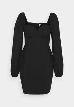 Nly by Nelly - BODY HUGGING CORSET DRESS - Vestido de cóctel - black