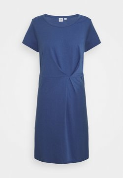 GAP - PLEAT WAIST - Sukienka letnia - chrome blue