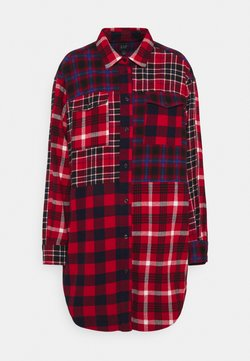 GAP - PATCH POCKET TUNIC - Bluse - red