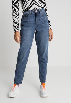 Lost Ink - VINTAGE MOM IN COCOA - Relaxed fit jeans - blue denim