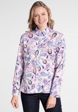 Eterna - MODERN CLASSIC - Hemdbluse - blue/pink/white