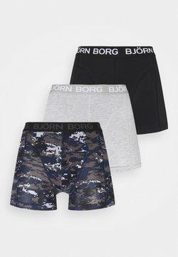 Björn Borg - DIGITAL WOODLAND SAMMY 3 PACK - Panties - mood indigo