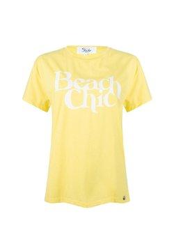 """Jacky Luxury - """"BEACH CHIC""""  - T-shirt print - yellow"""