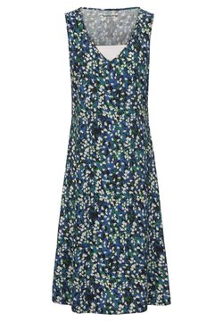Green Cotton - MIT EINSATZ - Jerseykleid - royal blue