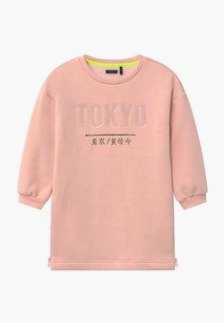 IKKS - TOKYO SIDE ZIP DETAIL - Freizeitkleid - rose poudré
