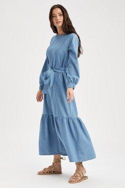 DeFacto - Maxikleid - blue