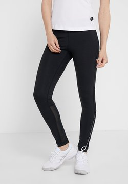 Lacoste Sport - Tights - black/white