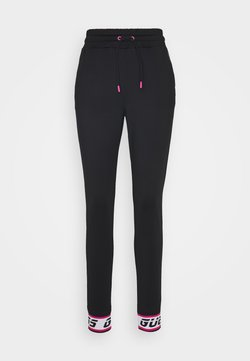 Guess - LONG - Jogginghose - jet black
