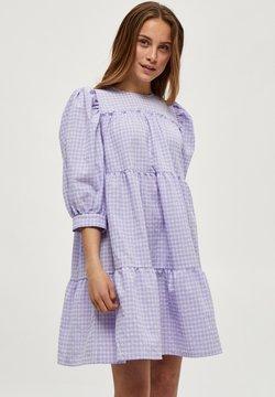 Minus - ROWEN - Vapaa-ajan mekko - purple checked