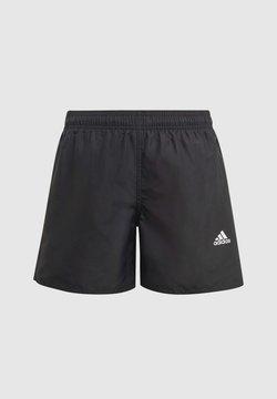 adidas Performance - BADGE OF SPORT PRIMEGREEN REGULAR SWIM SHORTS - Short de bain - black