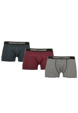 Urban Classics - BOXER SHORTS 3-PACK - Shorty - btlgrn/dblu+brgd/dblu+wht/blk