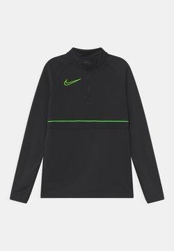 Nike Performance - Tekninen urheilupaita - black/green strike