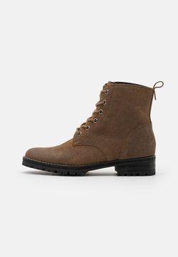 Superdry - COMMANDO BOOT - Schnürstiefelette - brown