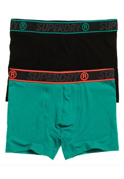 Superdry - 2PACK - Shorty - turquoise multipack