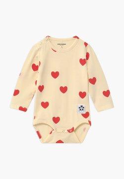 Mini Rodini - BABY HEARTS UNISEX - Body - offwhite