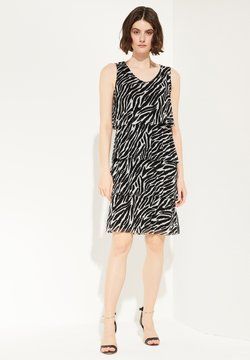 comma - Freizeitkleid - black zebra print