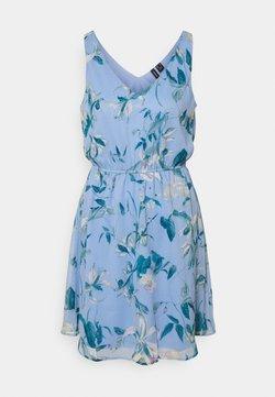 Vero Moda - VMWONDA NEW SINGLET SHORT DRESS - Freizeitkleid - grapemist/debbie