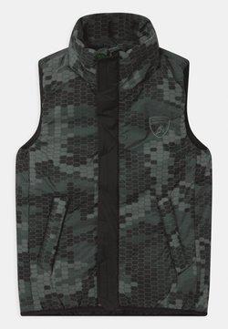 Automobili Lamborghini Kidswear - HEXAGON - Bodywarmer - grey telesto