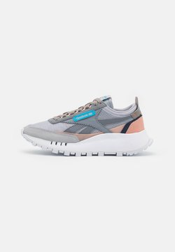 Reebok Classic - CL LEGACY - Trainers - cold grey/footwear white