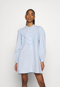 JDY - JDYMUMBAI LIFE - Vestido camisero - cashmere blue