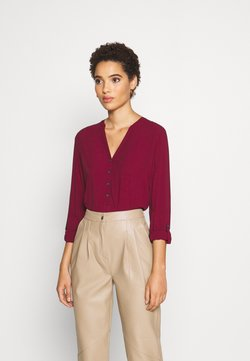 Esprit - CORE FLUID  - Bluse - bordeaux red