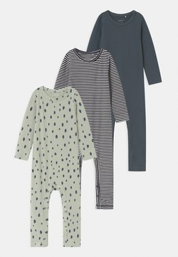 Name it - NBMRASKUS 3 PACK - Pyjama - whisper white/dark slate