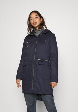 Noisy May - NMMISSI  LONG JACKET - Wintermantel - night sky/black lining