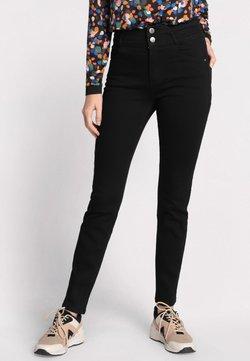 Cache Cache - MIT HOHER TAILLE - Slim fit jeans - black denim