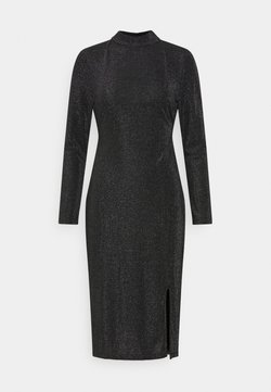 Glamorous Petite - OPEN BACK PARTY DRESS - Jersey dress - black
