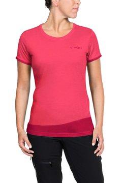 Vaude - SVEIT - T-Shirt print - bright pink/cranberry