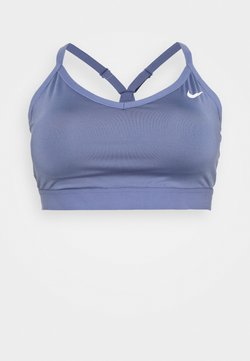 Nike Performance - INDY PLUS SIZE BRA - Sport BH - world indigo/world indigo/white