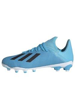 adidas Performance - X 19.3 MULTI-GROUND BOOTS - Fußballschuh Nocken - blue