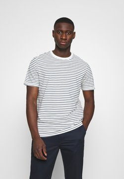 Only & Sons - ONSMICK LIFE STRIPE TEE - Print T-shirt - cloud dancer