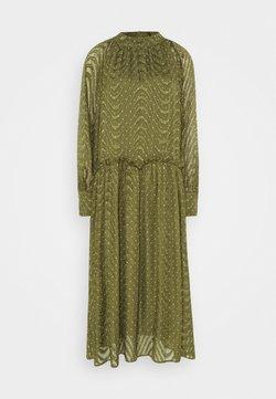 Love Copenhagen - RATANA DRESS - Freizeitkleid - bronze green