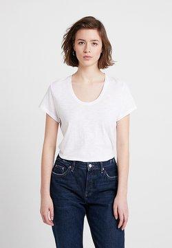 American Vintage - JACKSONVILLE ROUND NECK - T-shirt basique - blanc