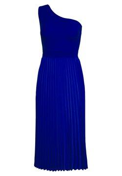 Ted Baker - MIRIOM ASYMMETRIC MIDI DRESS - Vestido de cóctel - bright blue