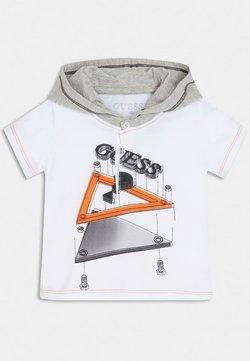 Guess - FRONTLOGO - T-shirt print - weiß