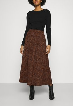 ONLY - ONLZILLE SKIRT - Maxirock - rust
