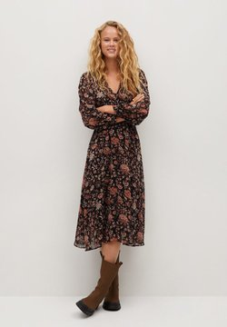 Mango - WINTER - Korte jurk - schwarz