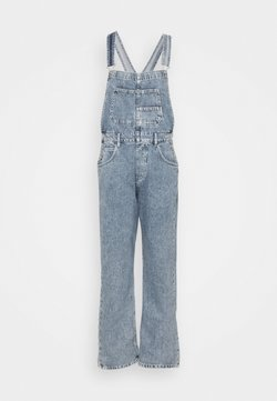 Free People - ZIGGY - Dungarees - powder blue