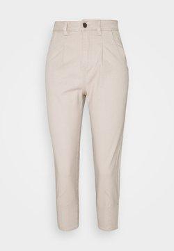 Object Petite - OBJROXANE ANKLE  - Pantalones - silver gray