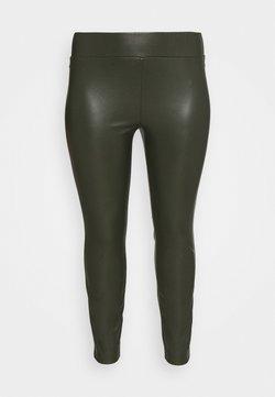 MY TRUE ME TOM TAILOR - LOOK - Leggings - Trousers - dark rosin green
