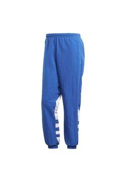 adidas Originals - BIG TREFOIL COLORBLOCK WOVEN TRACKSUIT BOTTOMS - Verryttelyhousut - blue