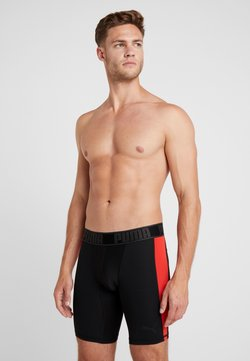 Puma - ACTIVE LONG BOXER PACKED - Underkläder - black/red